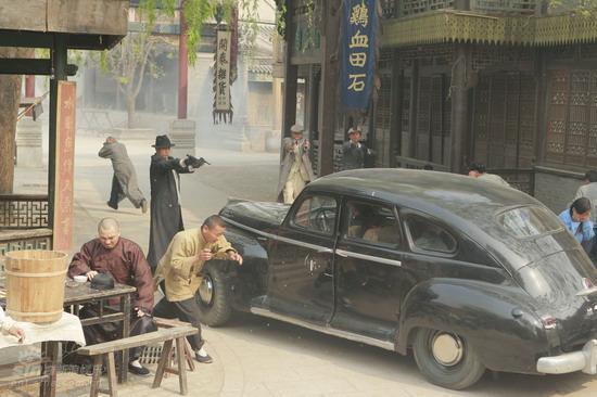 资料图片:电视剧《狼烟北平》第二批剧照(5)
