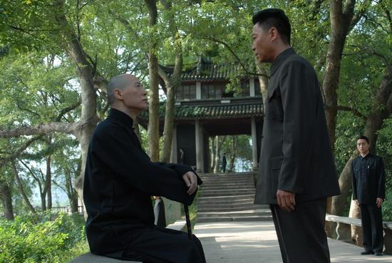 资料图片:电视剧《解放》剧照(7)