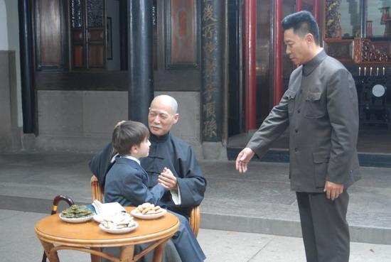 资料图片:电视剧《解放》剧照(11)