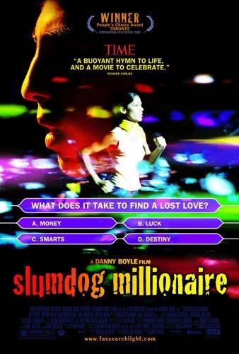 2009年的奥斯卡颁奖典礼,《贫民窟的百万富翁》成最大赢家