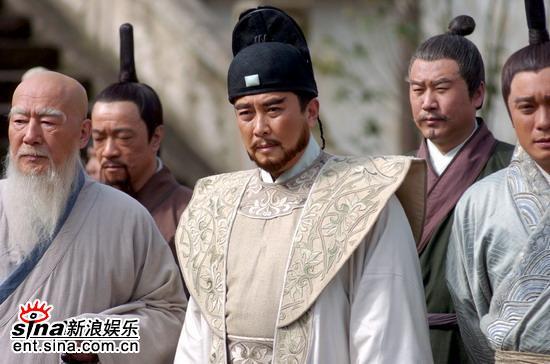 资料图片:电视剧《郑和下西洋》精彩剧照(12)