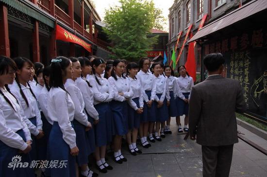 资料图片:电视剧《八千湘女上天山》剧照(39)