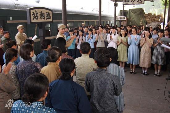资料图片:电视剧《八千湘女上天山》剧照(47)