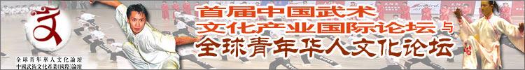 中国功夫全球青年华人文化论坛