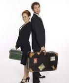提着行李去旅游