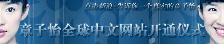 章子怡全球中文网站开通仪式
