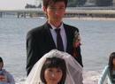刘恩佑金莎海边结婚