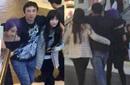 王思聪左拥右抱两美女