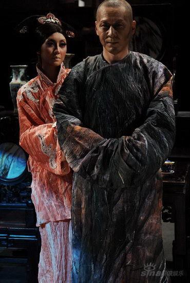 资料图片:《天朝1900》角色造型--芹圃和媳妇