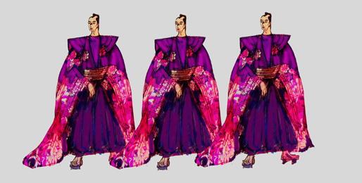 资料:《绝代佳人》服装-日本浪人
