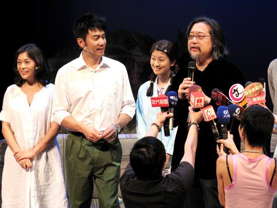 《陪我看电视》首演林依轮完成宝岛处女秀