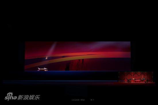 资料图片:大型山西说唱剧《解放》舞美图(2)