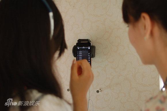 资料图:《图兰朵》激情车-手机感受科技气息