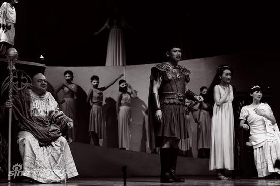 资料图:《夜莺之爱》-特柔斯娶走雅典王的大女儿