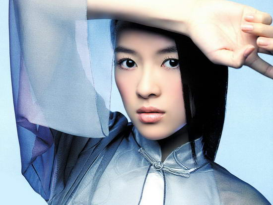 资料图片:国家话剧院女演员--章子怡
