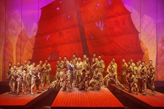 话剧《红帆》再现解放海南战役即将亮相大剧院