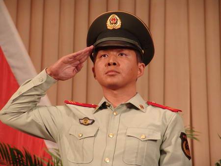 资料图片:国家话剧院男演员--林鹏