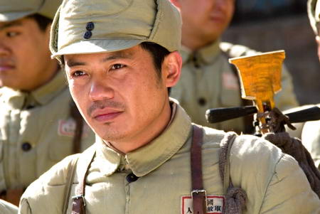 资料图片:国家话剧院男演员--林熙越