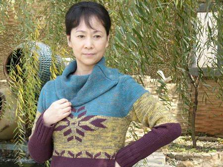 资料图片:国家话剧院女演员--李蕴杰