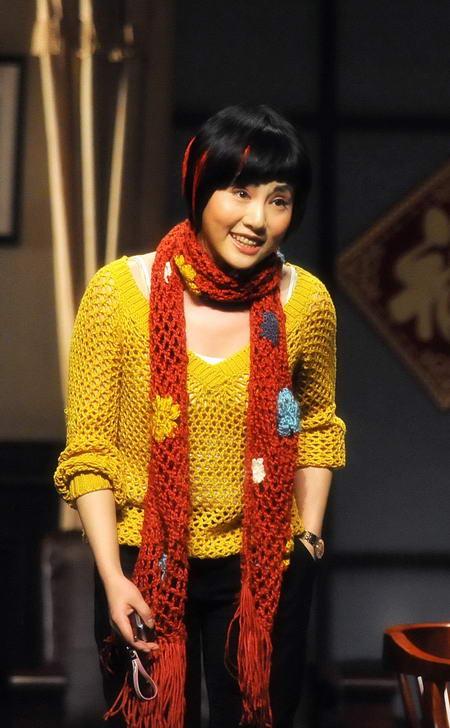 资料图片:国家话剧院女演员--吴祯