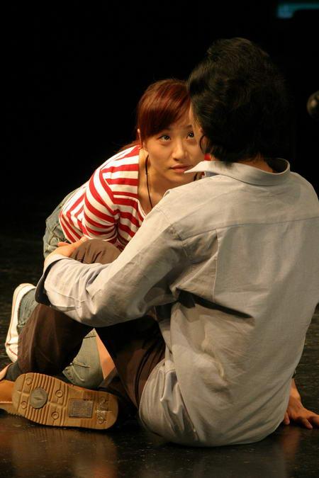 资料图片:国家话剧院女演员--赵萍
