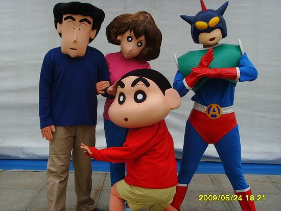卡通明星嘉年华元旦登场让孩子家长一起动起来