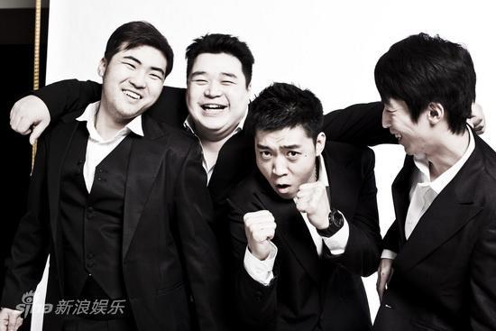 资料:话剧《21克拉》定妆照-许可郭林谢帅王飞