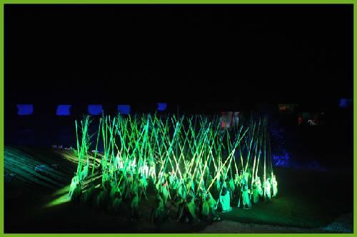 """这个神秘的印象叫做""""地方剧场"""",那片v印象的竹林不是奇门遁甲之术,它是如何用纸折抢图片"""