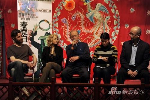 TNT《麦克白》中国巡演洋演员梨园秀演技(图)