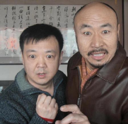 尚大庆苦中作乐排《饭局》与朱正合作很愉快