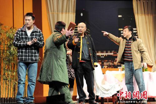 《饭-局》首演深刻呈现中国式饭局文化(图)
