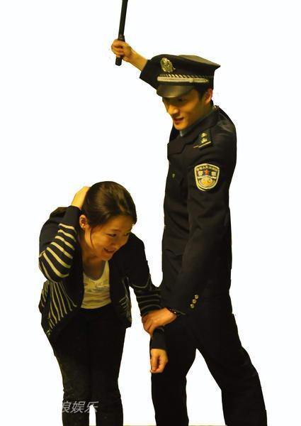 资料:话剧《昏了婚了》宣传照-朱珠薛凯文