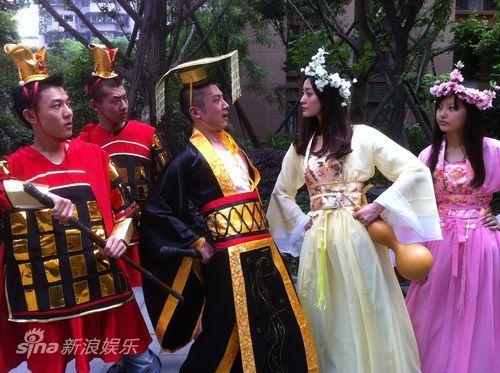 孟姜女对撼始皇帝