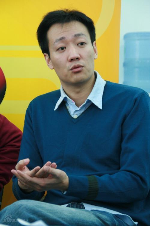 图文:《红白玫瑰》做客-辛柏青谈对胡靖钒感觉