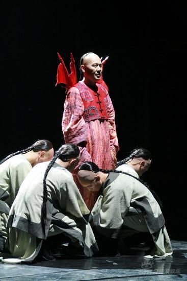 图文:《天朝》华丽首演--芹圃想做岳飞