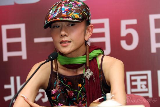 图文:杨丽萍预热《响声》-杨丽萍民族风情装束
