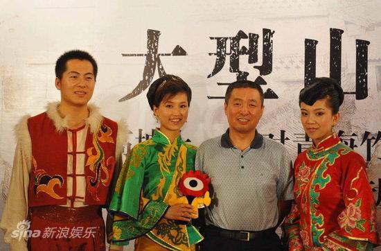 图文:《解放》揭秘会-作曲张千一与民歌手