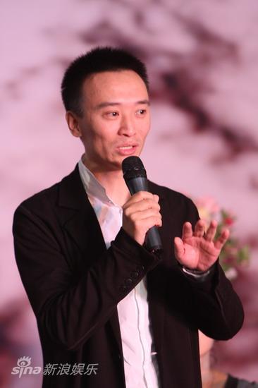 图文:《陪我看电视》发布会--制片人王可然