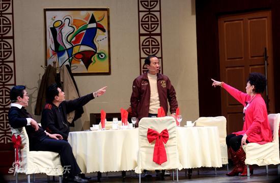 图文:话剧《饭局》首演-最八卦的饭局