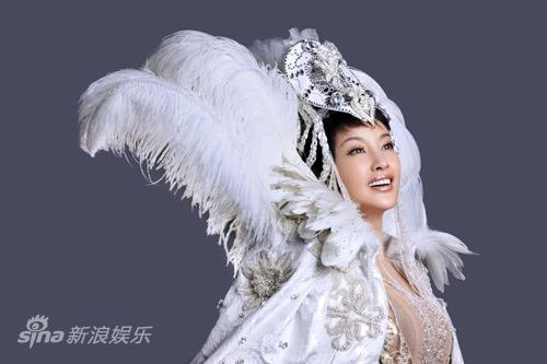 图文:《阿房宫赋》刘晓庆写真-尽显王者风范