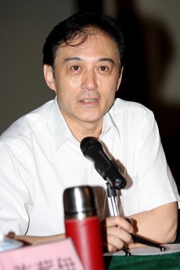 图文:话剧《原野》建组会-国家大剧院副院长王争鸣