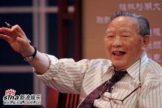 图文:梁羽生南宁录制广西电视台中秋晚会(5)