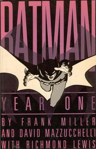 弗兰克-米勒的成长岁月(五)--《蝙蝠侠》