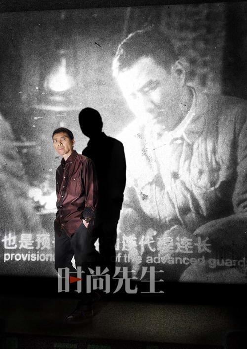 80后代表春树与50后导演冯小刚精彩互访(组图)