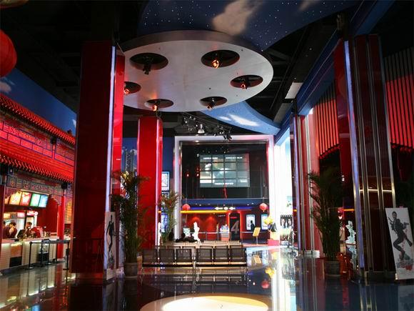 资料:北京万达龙德影城装璜--宽敞的大堂