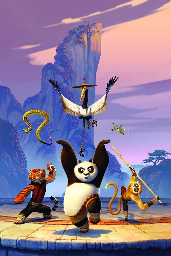 资料:《功夫熊猫》看点--中国功夫无孔不入