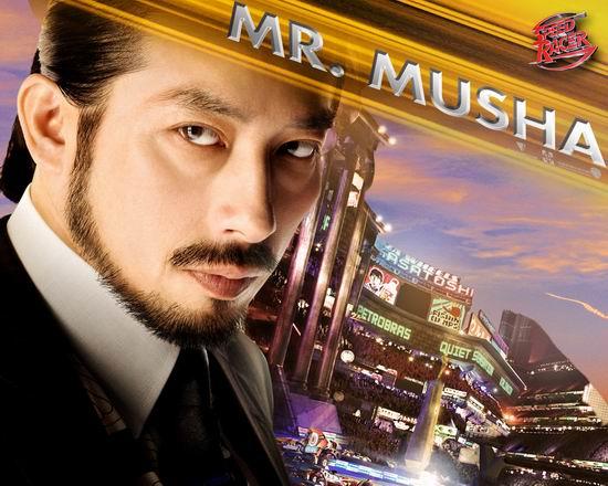 资料:《极速赛车手》人物介绍--穆沙先生