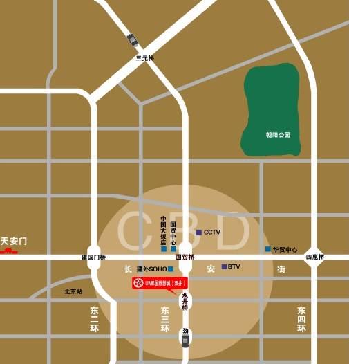 北京UME国际影城双井店地理位置(图)