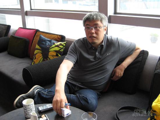 为上海国际电影节支招--导演盛志民