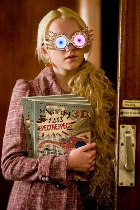 资料:《哈利-波特6》人物介绍--卢娜